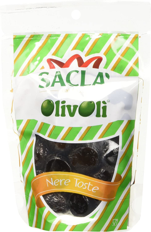 Sacl� Olive Nere Toste Pak - 24 Pezzi