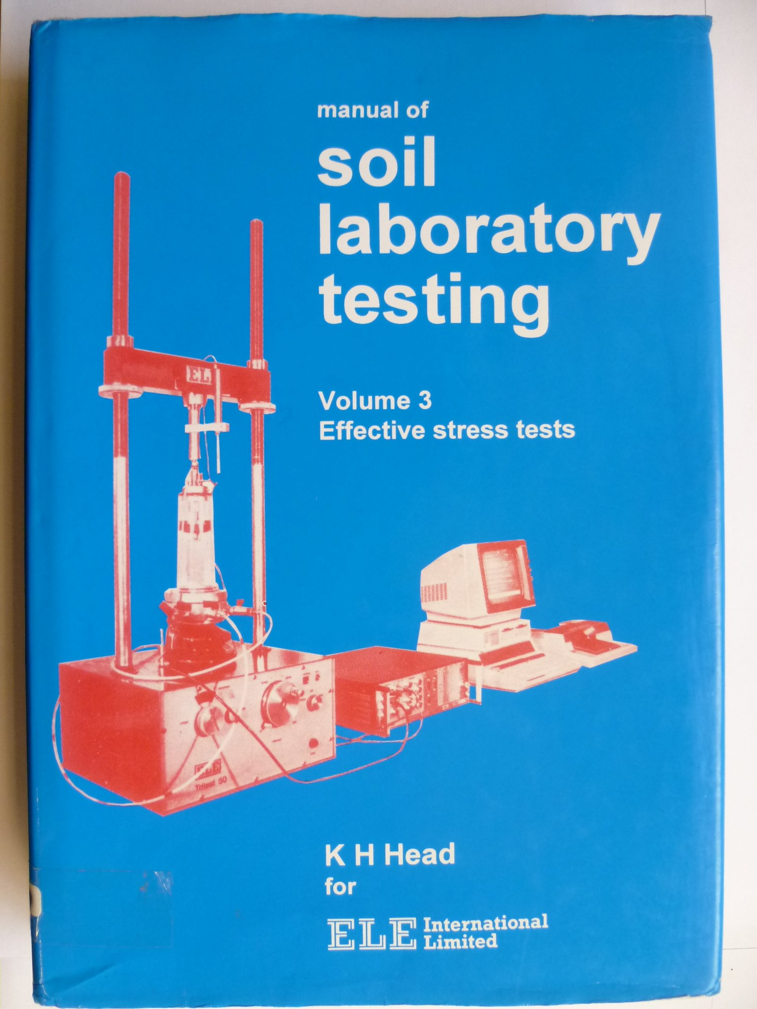 Buy Manual of Soil Laboratory Testing V 3 - Stress Test Book Online at Low  Prices in India | Manual of Soil Laboratory Testing V 3 - Stress Test  Reviews ...