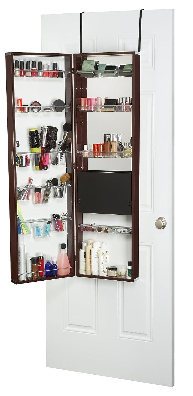 Exceptionnel Amazon.com: Mirrotek Over The Door Beauty Armoire And Makeup Organizer:  Home U0026 Kitchen