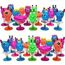 THE TWIDDLERS Juguetes Monstruos Saltarines - Paquete de 36 Juguetes de Resorte - Ideales Regalos de Fiesta Cumpleaños - Piñata - Premios o Detalles ...