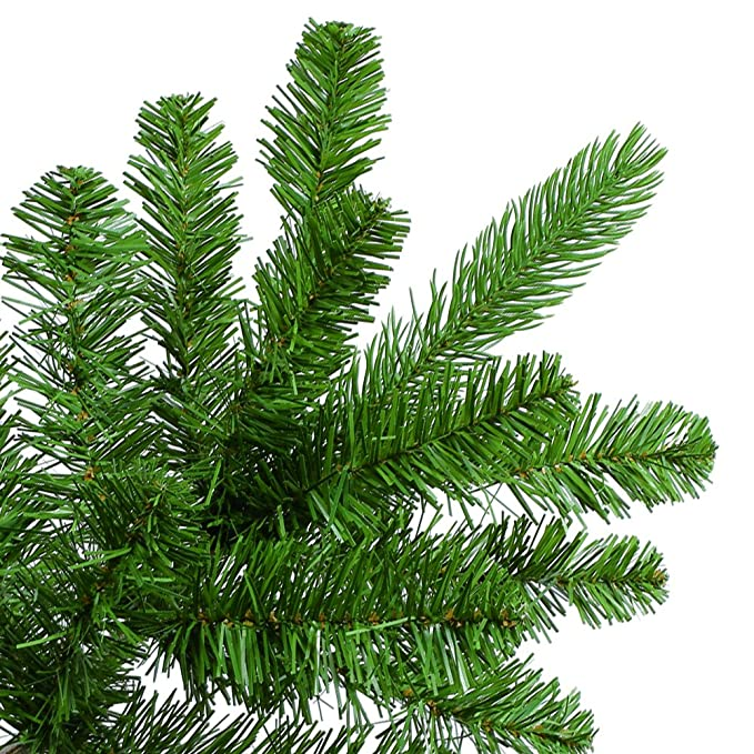 amazon com home heritage 7 5 artificial wilmington pine christmas tree with clear lights home kitchen