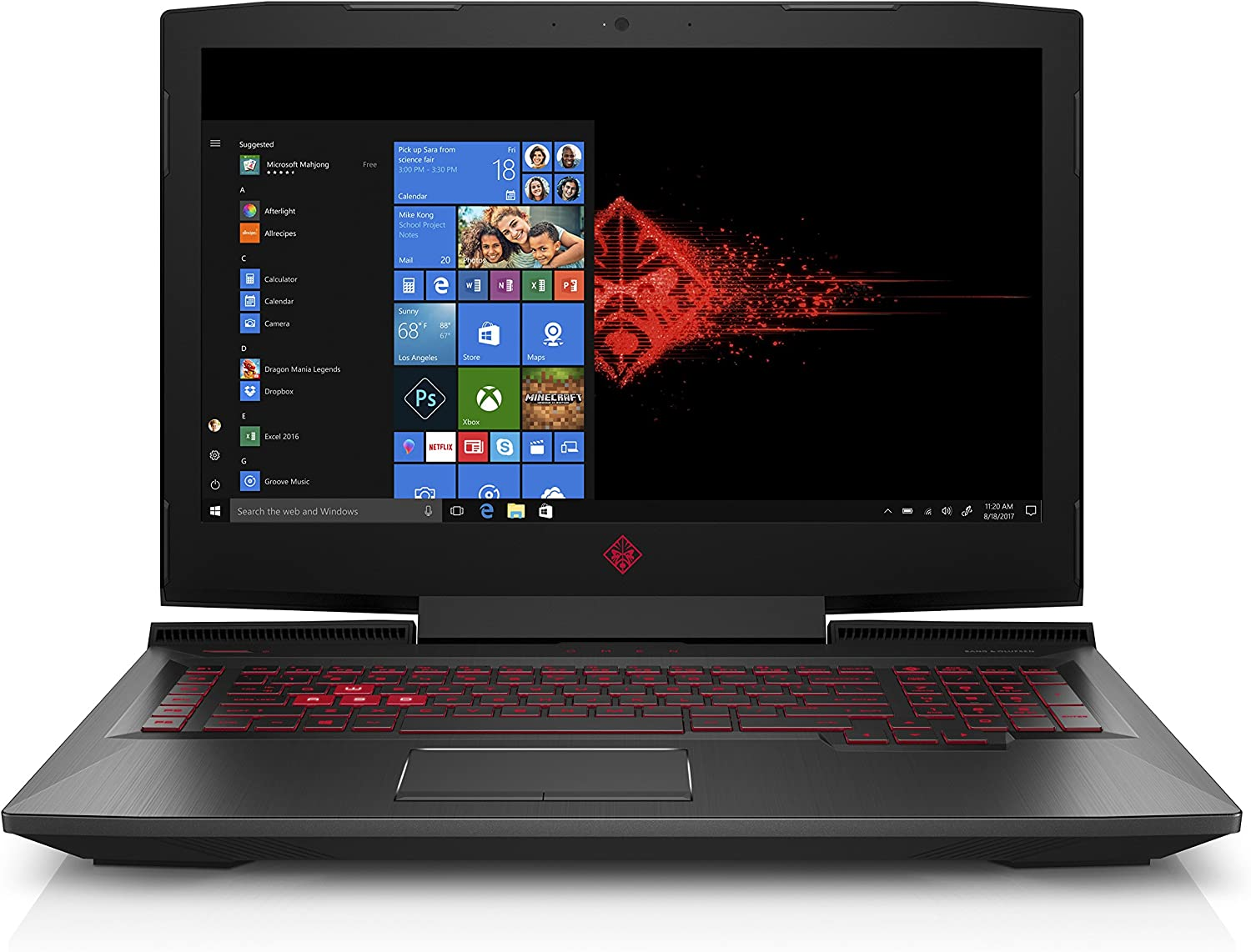 The HP Omen an110nr travel product recommended by Abe Navas on Lifney.
