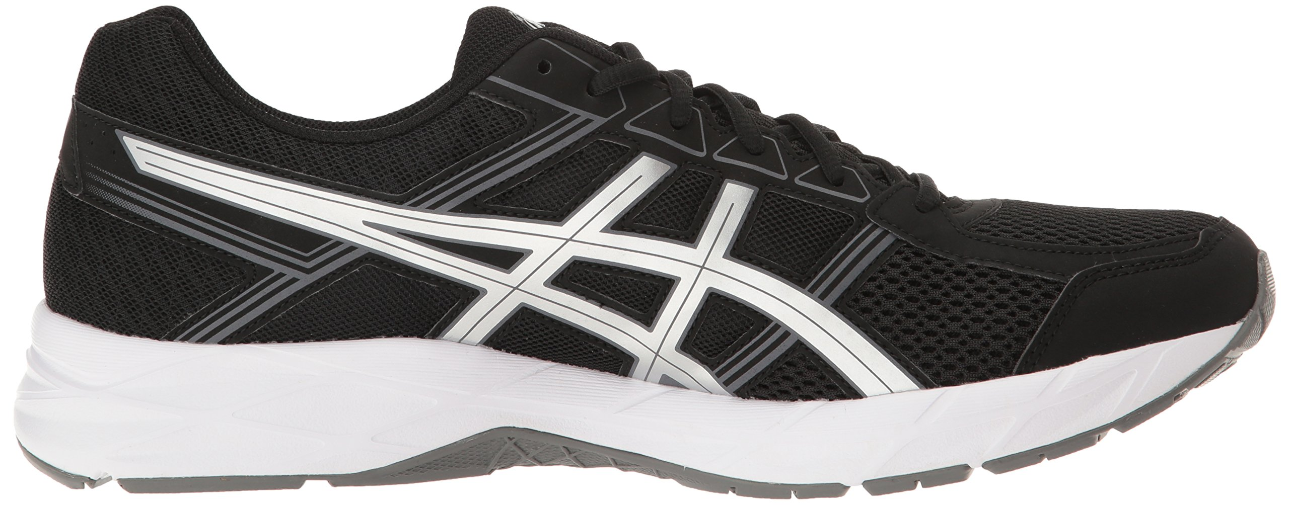ASICS Men's Gel-Contend 4 Running Shoe, Black/Silver/Carbon, 7.5 M US by ASICS (Image #7)