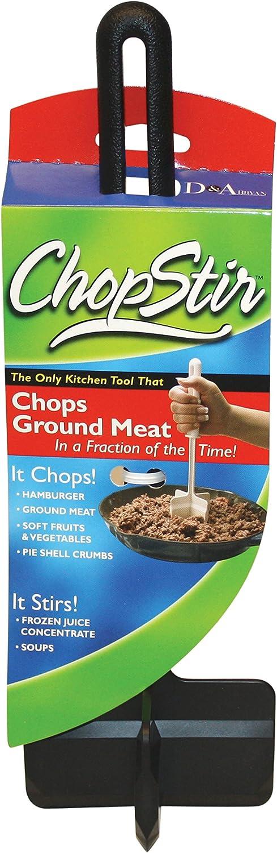 Harold Import Chopstir Chop Hamburger Vegetables Stirring Spatula Black New