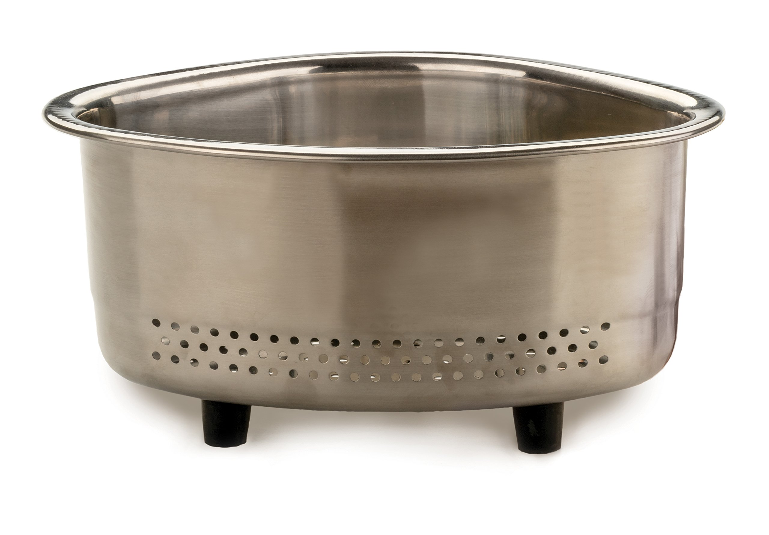 RSVP Endurance Stainless Steel In-Sink Corner Basket