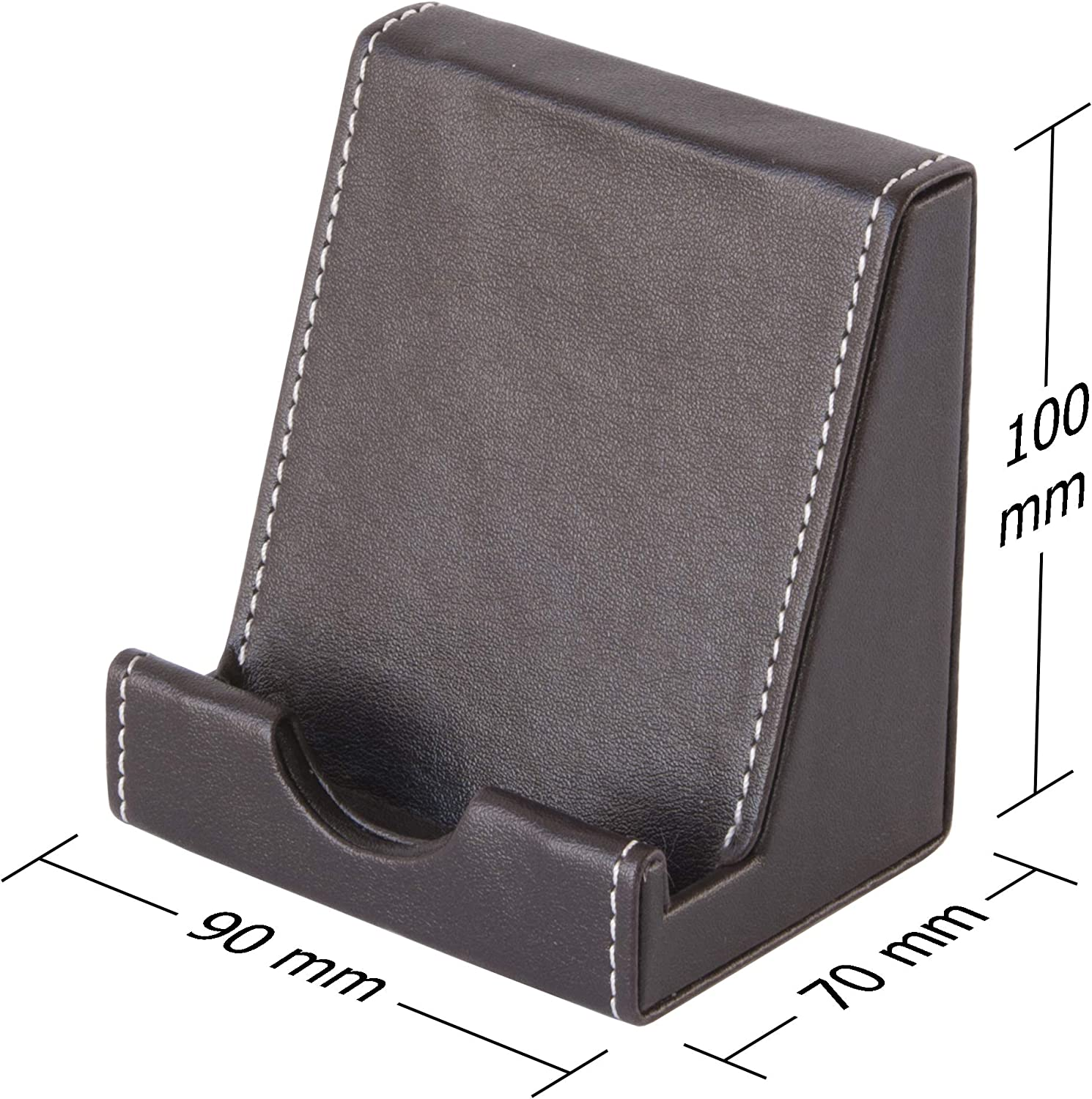 Grey Osco GRYPUPH1 Faux Leather Phone Holder