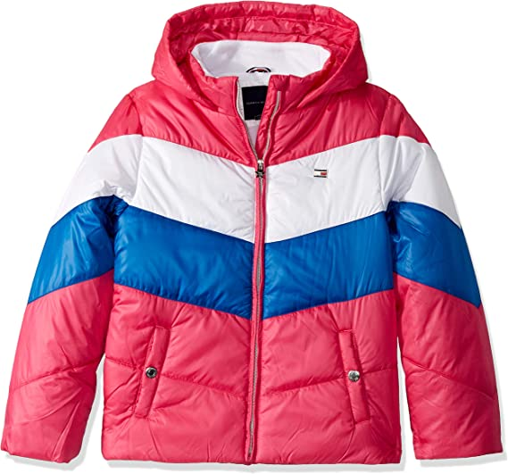 Tommy Hilfiger Baby Girls' Quilted Puffer Jacket