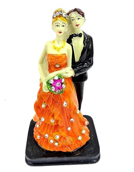 Buy Unique Palette Loving Couple Showpiece Statuegift For Marriage