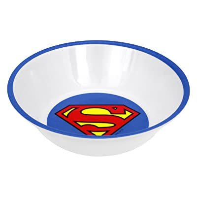 Warner Bros. Superman Logo Bowls, Multicolor, Set of 4: Kitchen & Dining