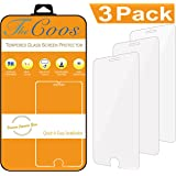 [3-Pack] TheCoos Tempered Glass Screen Protector For Apple iPhone 8 iPhone 7 iPhone 6s iPhone 6