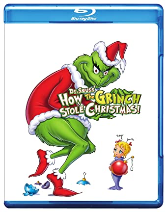 Image result for How the grinch stole christmas blu ray