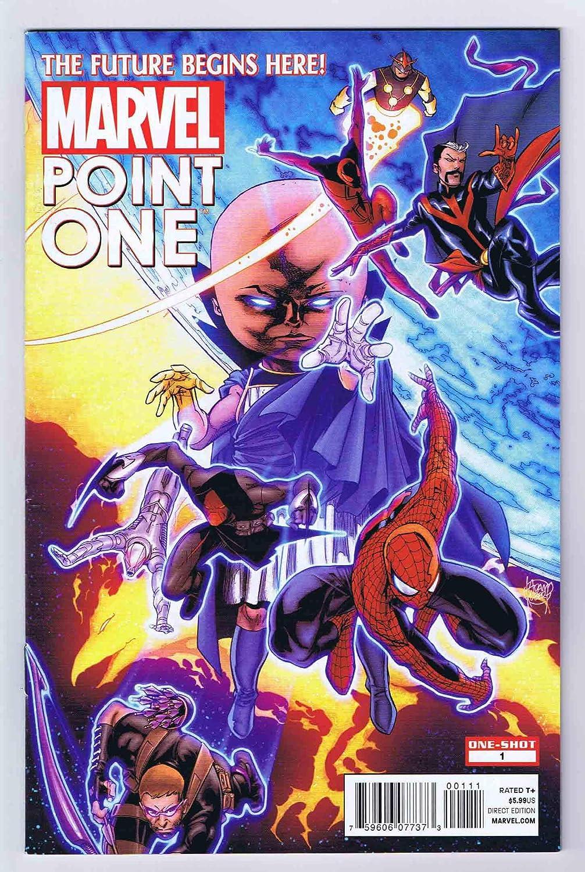 2012 Marvel Point One # 1  1st Sam Alexander Nova Rare Hot Key !!