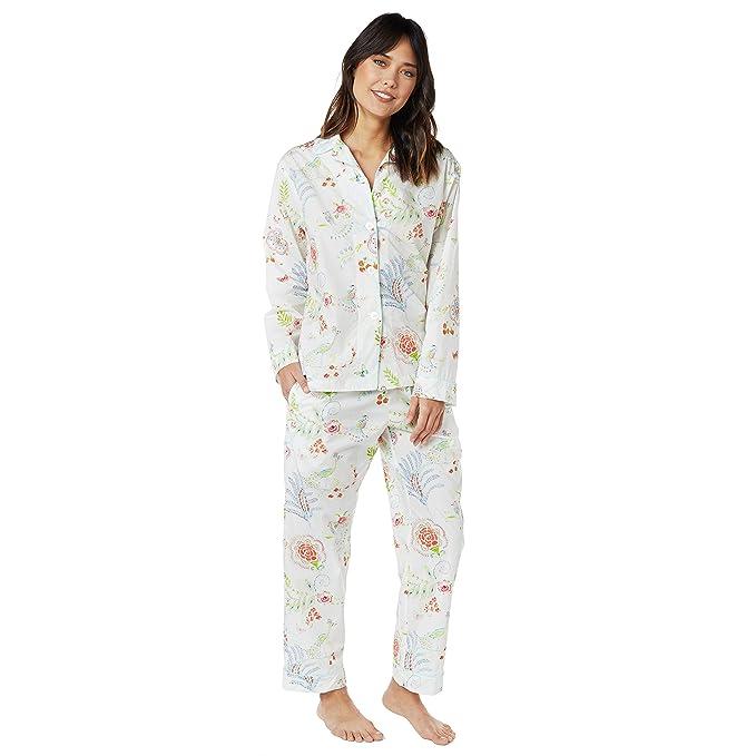 6389fb5c2 Birds of Paradise Luxe Pima Cotton Pajama at Amazon Women's Clothing store: