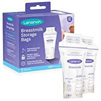 Lansinoh Breastmilk Storage Bags, Multi, 100 Count