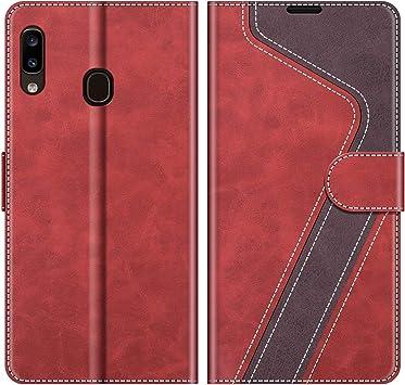 MOBESV Funda para Samsung Galaxy A20e, Funda Libro Samsung A20e ...