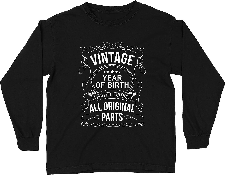 lepni.me Camiseta para Niños Año Personalizado Todas Las Piezas Originales Regalo de cumpleaños Vintage