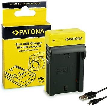 PATONA Estrecho Cargador de Batería para Sony NP-FZ100, Alpha 9, 7 III, 7R III, 7RM3   8.4 V/500 MA   Micro-USB Cable