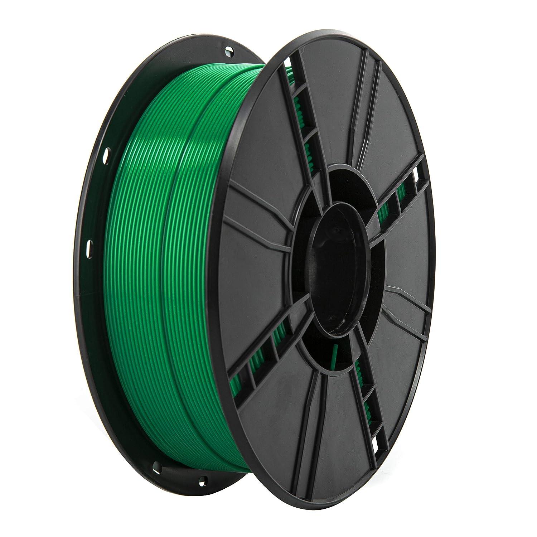 filamento PLA 1,75 mm bobina da 1 kg Filamento 1,75 PLA argento TINMORRY per stampante 3D