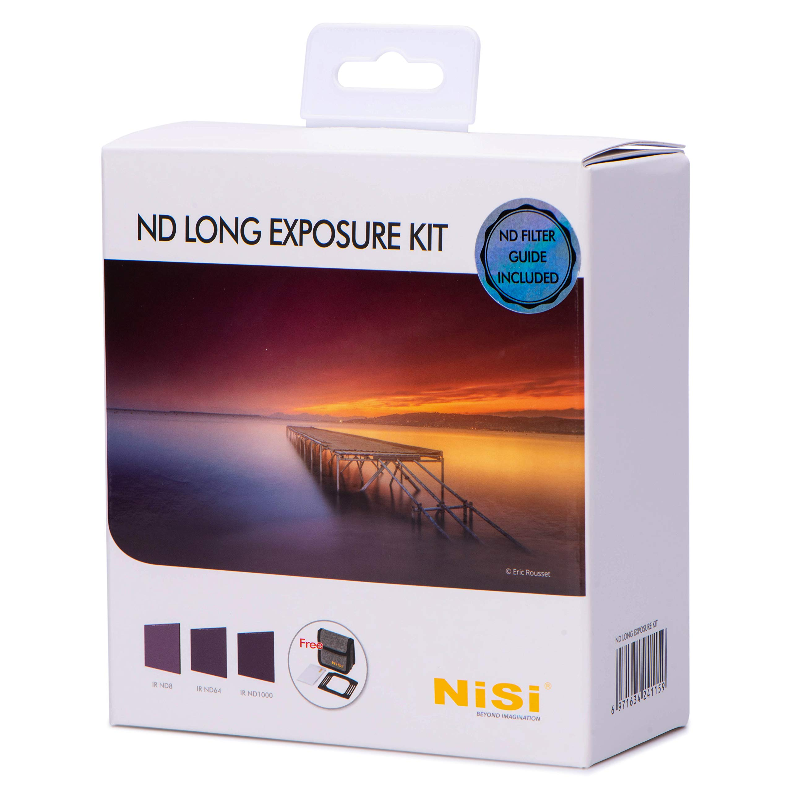NiSi ND Long Exposure Kit 100x100mm, Featuring IR ND8(3-stop), IR ND64(6-stop) and IR ND1000(10-stop) by NiSi