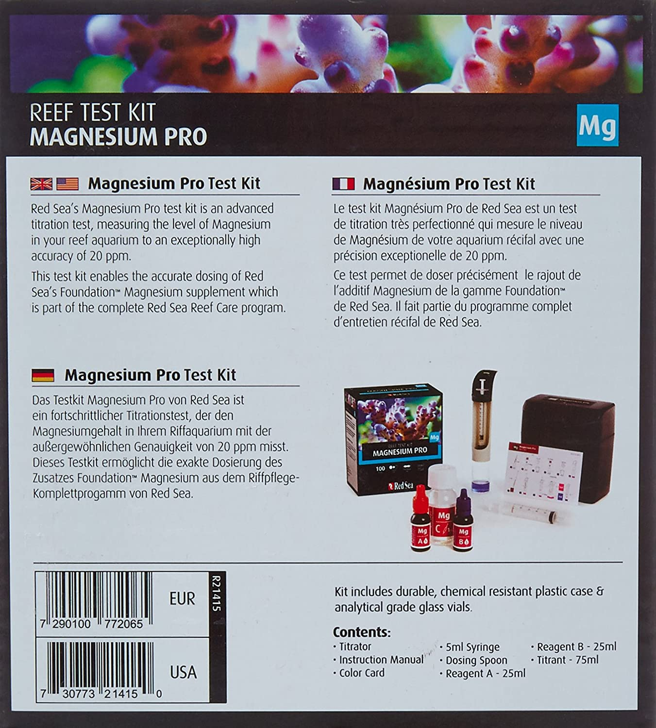 Amazon Red Sea Fish Pharm ARE Saltwater Magnesium Pro