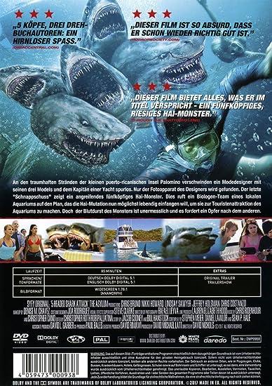5-Headed Shark Attack (Uncut): Amazon.co.uk: DVD & Blu-ray