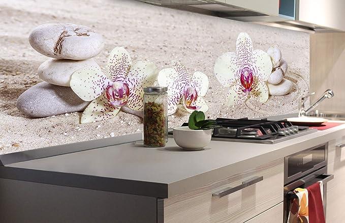 DIMEX LINE Film Autoadhesivo de Cocina JARDÍN Zen 180 x 60 cm | Decoración de Cocina: Amazon.es: Hogar