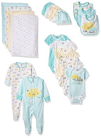 a94ddad9d Amazon.com  Gerber Baby 19-Piece Essentials Gift Set