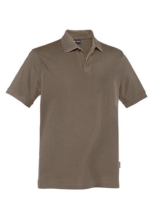 Expand 1197900 Hombre Polo de Trabajo, Nougat marrón, L: Amazon.es ...