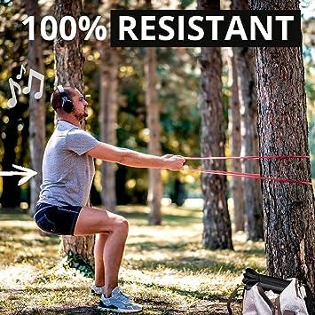 BLAUBODY Gomas Elasticas Fitness Bandas Resistancia - Bandas Elasticas Musculacion - Cintas Elasticas Musculacion Crossfit Bandas de Resistencia ...