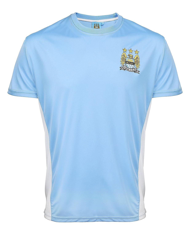Oficial del Manchester City adultos Rendimiento Camiseta - Sky ...
