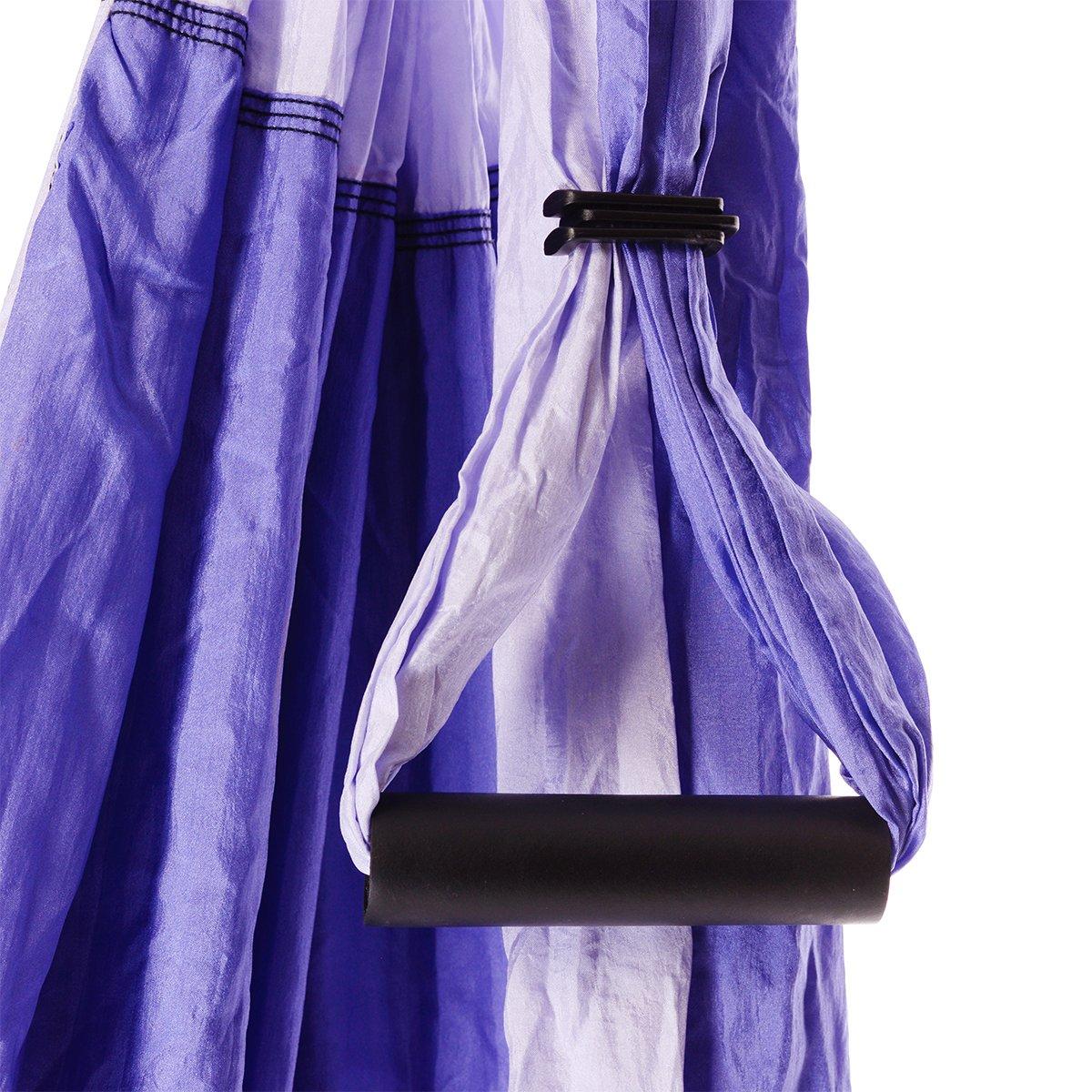 Bundle - 2 Items: Yoga Trapeze Purple & Yoga Wonder Wheel Blue [Bundle] - By YOGABODY - with 2 Free DVD by YOGABODY (Image #6)