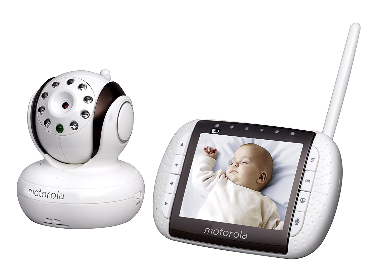 Motorola Mbp36 Remote Wireless Video Baby Monitor Paradigm 7 Wiring Diagram Withcolor Lcd Screen Surveillance Monitors