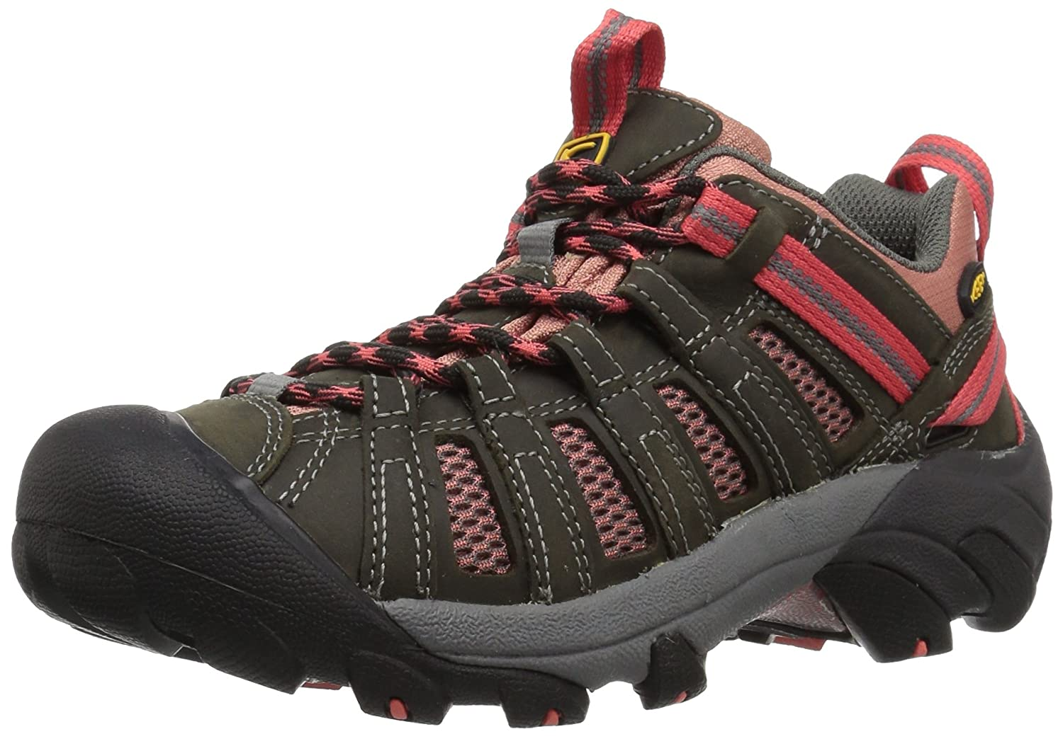 KEEN Women's Voyageur Hiking Shoe B01H8JWIHS 5 B(M) US|Raven/Rose Dawn