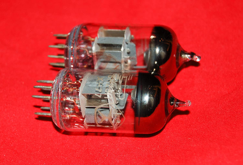 Matched Pair 6N23P=ECC88=6922=6DJ7 Voskhod Audiophile Dual Triode Tube NOS