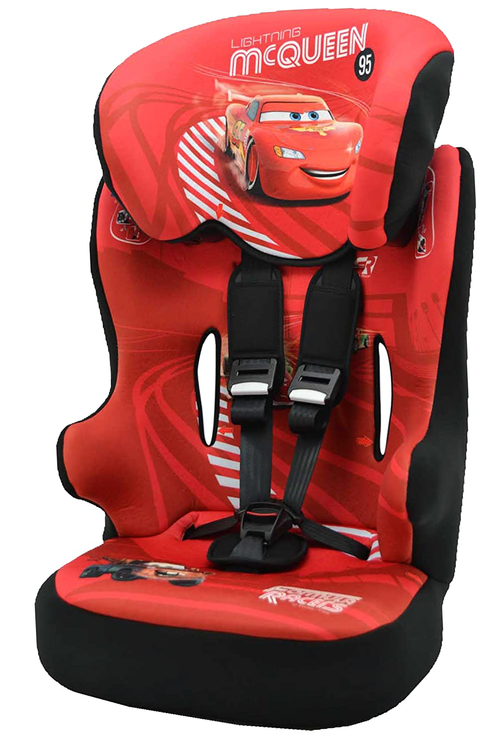 Disney Racer SP E102 120 713 Childrens Car Seat 9 36 Kg Cars Lightning McQueen KIDS IM SITZ Amazoncouk Baby