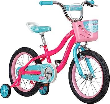 Schwinn Elm Bicicleta para niña con SmartStart, ruedas 12-14-16-18 ...