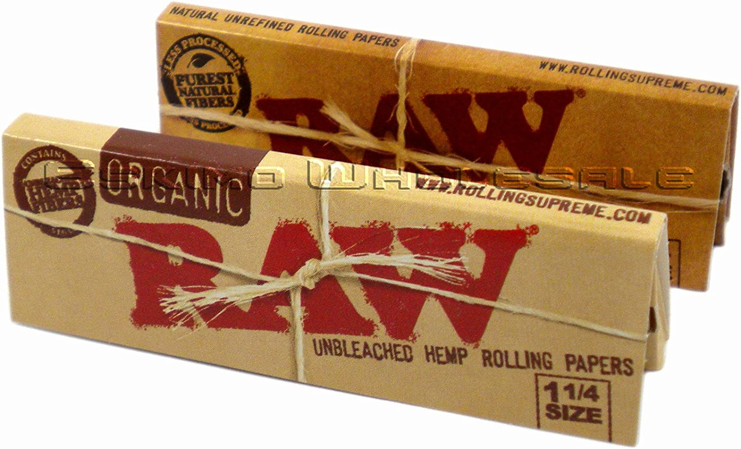 Amazon.com: RAW Organic Unbleached HEMP 1¼ Rolling Papers + RAW Unrefined 1¼ Rolling Papers 1 of Each: Health & Personal Care