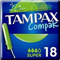 Tampax Compak Super Tamponger, Paket med 18