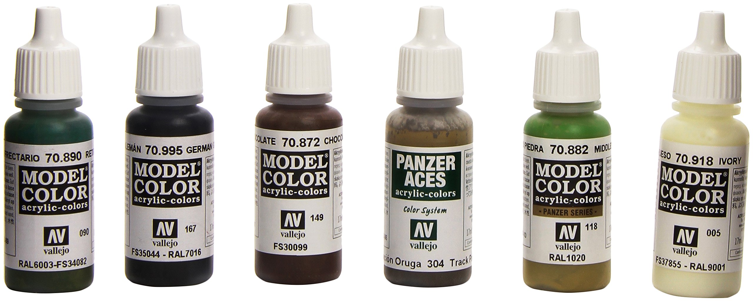 Vallejo German Armor Paint Set. 17ml