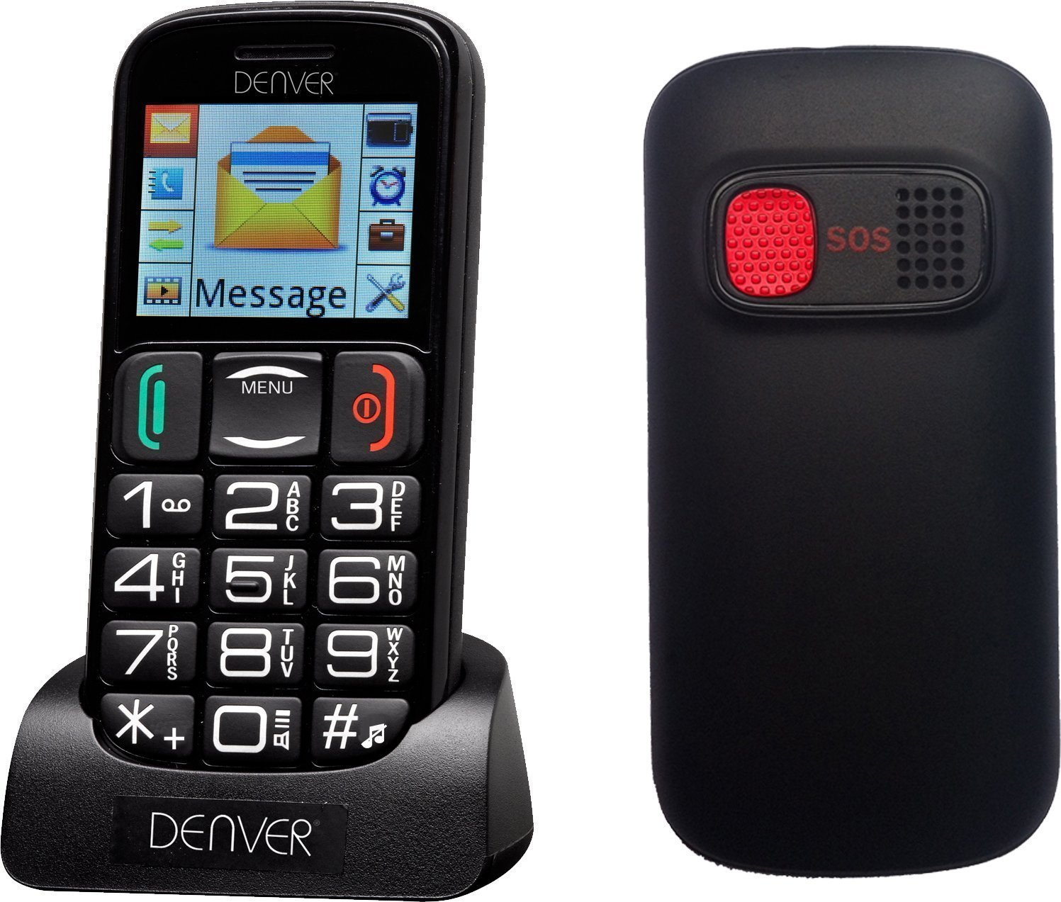 Phones For The Elderly: Big Button Mobile Phone Easy Dial Text Elderly Unlocked