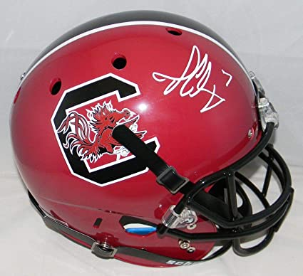 Image Unavailable. Image not available for. Color  Jadeveon Clowney  Autographed South Carolina Gamecocks Full Size Helmet - JSA ... e689eed9f
