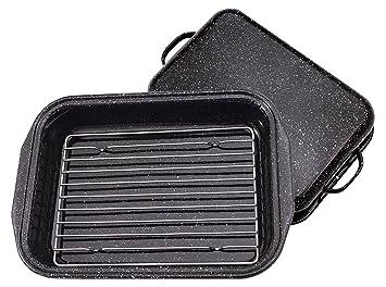 Graniteware 0535 - Asadora para horno de acero al carbono: Amazon.es: Hogar