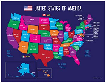 Map of United States for Kids - US Map with Capitals - American Map Map Of The Usa With State Names And Capitals on map with state names and the u sof capitals, map of the us with capitals, map of the usa with cities, map with state names printable, map of usa with states and cities, map usa states 50 states, world map with countries names and capitals, map of usa states only, 50 us states map with capitals, map of all 50 states with names,
