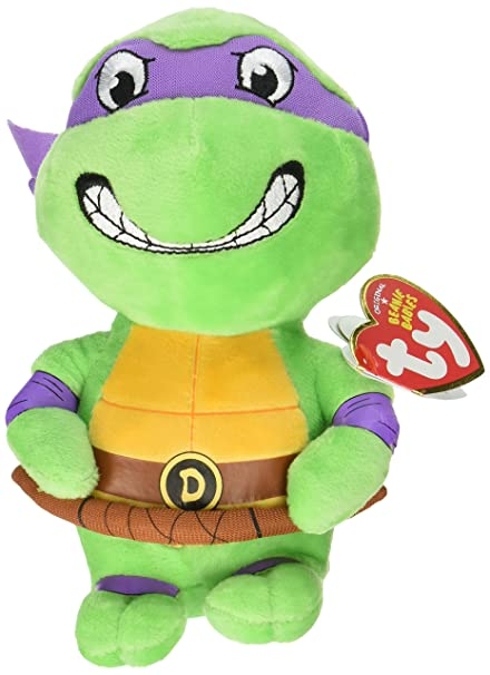 42a10401e7f Image Unavailable. Image not available for. Color  Ty Beanie Babie Teenage  Mutant Ninja Turtle ...