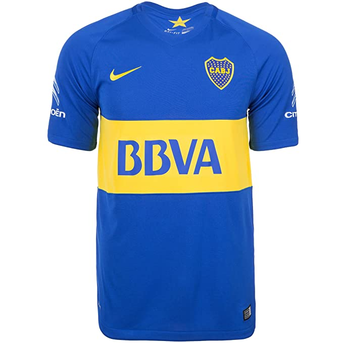 finest selection 13bc1 d1f1b NIKE Mens Boca Juniors Home Stadium Jersey [Game Royal]