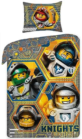 Lego Nexo Knights Bettwäsche Set Amazonde Küche Haushalt