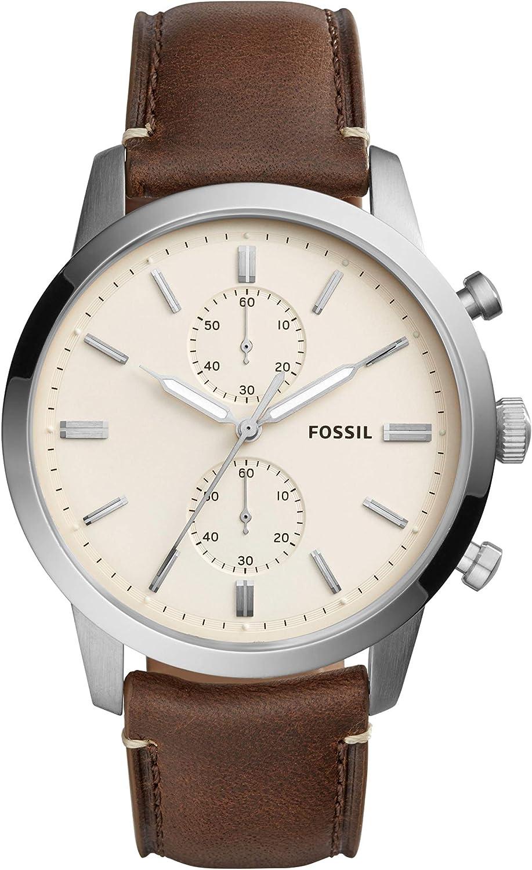 Fossil Men s 44mm Townsman – FS5350