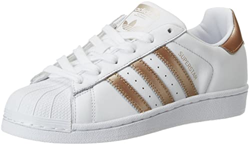 pretty nice 1e28e 7291a adidas Damen Superstar W Fitnessschuhe Weiß (FtwblaCiberm 000) 40 23