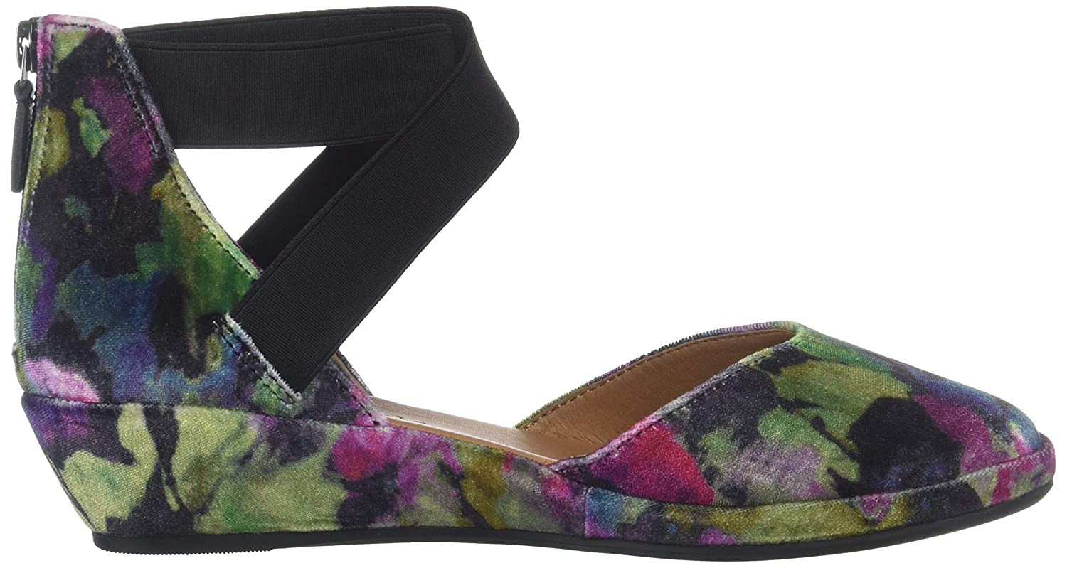 Gentle Souls Womens Noa Wedge with Anklestraps Pump