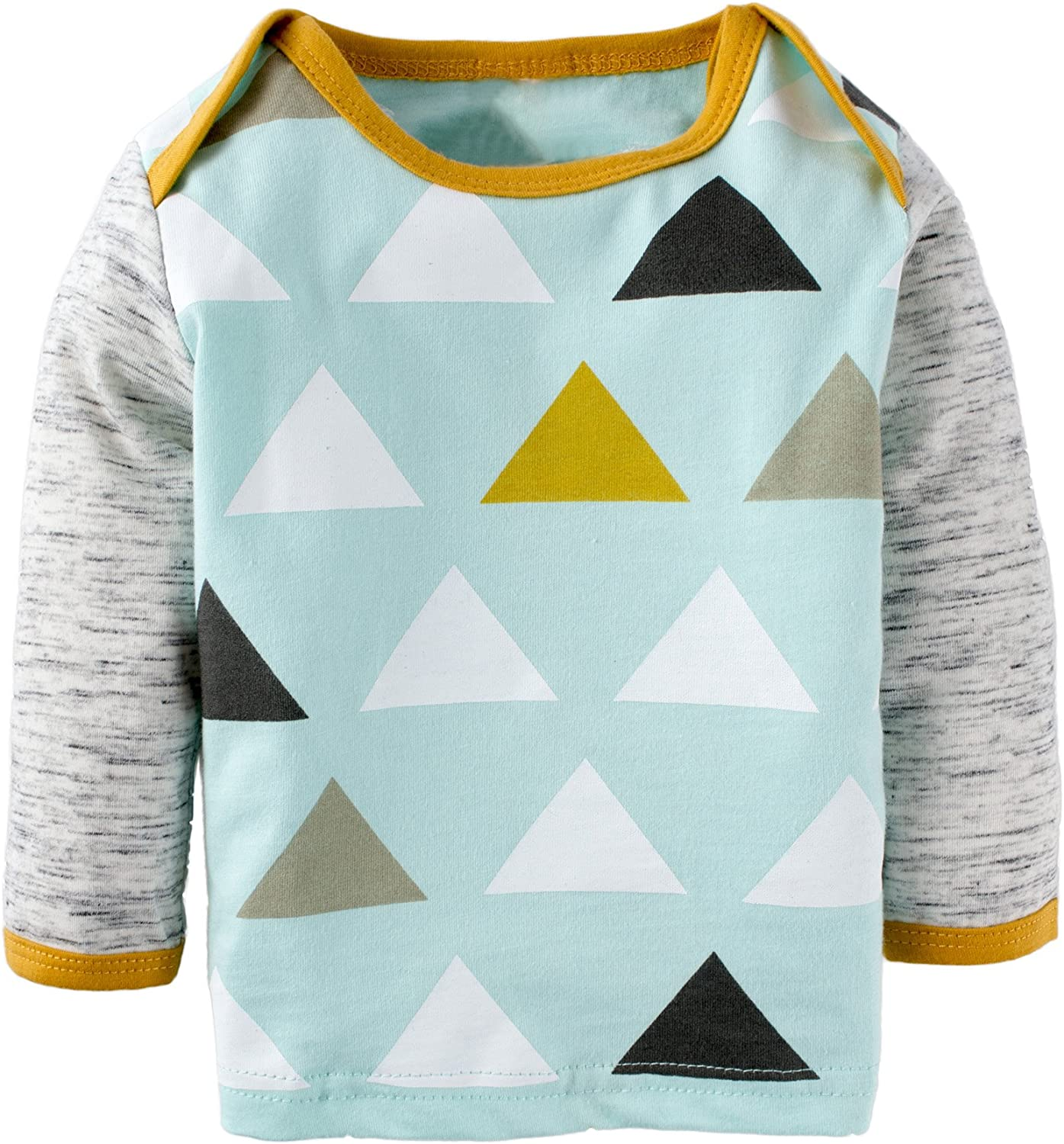 BIG ELEPHANT Baby Boys3 Pieces Long Sleeve Graphic Top Pants Set with Hat D L65-100 18-24 Months